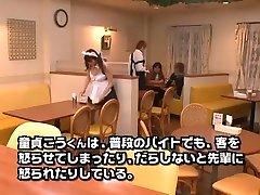 Incredible Japanese chick Megu Fujiura in Crazy Handjob, tube surprise trans JAV scene
