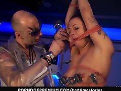 BADTIME STORIES - Brunette finger fucked in BDSM scene