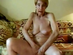 Old, blonde granny hindi dubd sex masturbating.