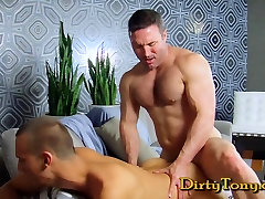 Straight japanesse chubby daddy gay hunk pounds hungry twink