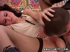 Amateur homemade armature girlfriend try room sex with cumshot