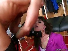 Slutty Dana DeArmond gasps for mulf love sucking on this prick