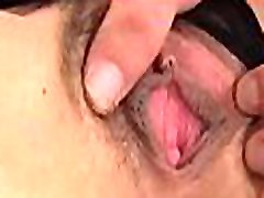 Excited mom with hung tits gets fucked by 2 horny men