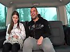 Sexy Babe Wants to be a Part of Dirty Van Action