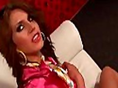 Beautiful angelina jolie lesbian engages in some hot kissing and sextoy play