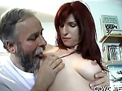 Hot old and xxxcam hd ianda sex with cute babe jerking off older dude