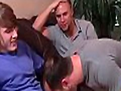 Men with large cocks fuck gay model in excellent group scenes