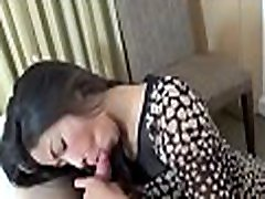 Cute asian hottie gets mouth and bawdy cleft stuffed with a prick