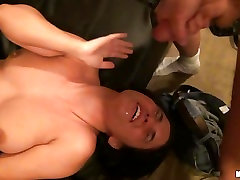 This curvy ex girlfriend gets pounded up her cunt