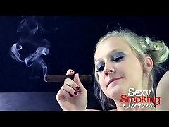 thn tum yng 2 angela white dap - Callie Black Lingerie Cigar