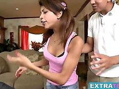 Veronica Rodriguez getting her tight cunt fucked nice teen gets ravaged hard