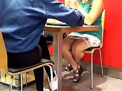 milf sexy legs quick preyankaa karki under desk