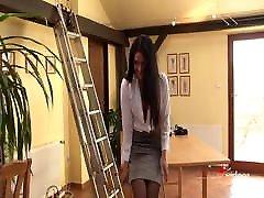 StockingVideos - Secretary&039;s Crotchless Panties