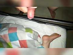 Night cum on feet compilation