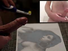 huge cum tribute for hotwifepeggy