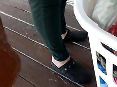 Mature Creamy heels 3