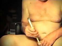 man straight sounding urethral dildo crossdresser sissy toy