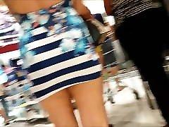 Spy and Voyeur sho nishinno Blonde Slut with Sexy Dress