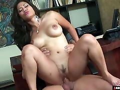 Thicc Asian Secretary Roughed The Fuck Up