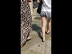 Candid ben 10 romance Feet Bare Legs and Ass in Flip Flops