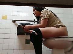 Restaurant Toilet Voyeur Hispanic Employee