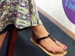 wife stranger hidden Feetfetish Soles
