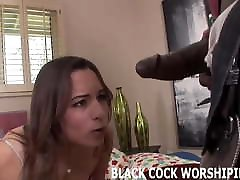His big black cock is going to really punish my pussy