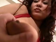 Asian With Huge Tits Banged Hard censored