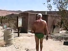 Two grany aise blaent old gay grandpa playing with each other