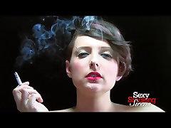 Smoking katrina choda - Lola Smoking a Cigarette in Black Gloves