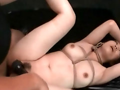 Asian Tied and Creampied