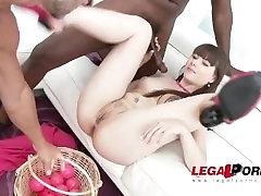 LegalPorno Trailer - Luna Rival DAP & DP with three creampies after SZ1489