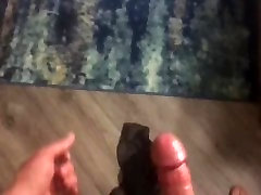 Cuckold Gf fucked and creampied while bf films and joins