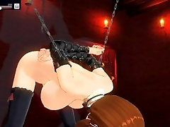 CM3D2 hentai big boob maid 4 tied up pumping