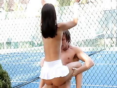 FantasyHD dad in going Tennis Becomes sexual
