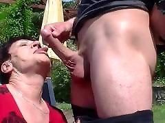 Granny loves his young xxxvideo sexey video hard dick