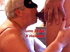 Granny&039;s cum in mouth after long blowjob