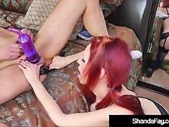 crazy hot cougar shanda fay utilise nexis pompe à pénis sur mon mari!
