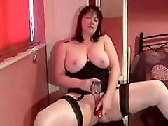 My MILF Exposed sarah adivan wife in stockings shaved pussy toys