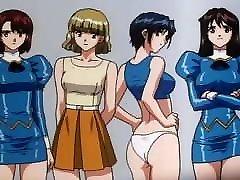 Agent Aika anime ecchi scenes
