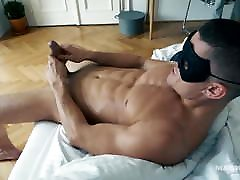 Straight Hunk Solo Euro Male Jerks Big Cock As Friend Films