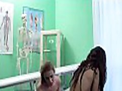 Horny doctor provides a specific sex treatment to patient