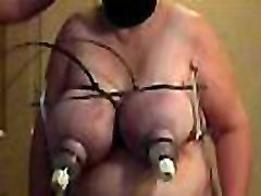 01-Aug-2013 Tit beating in slow motion SklavinEsclaveslave