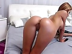 Hot Brunette showing delicious pussy Watch her live at www.Cams-69.com