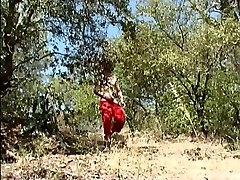 Two horny three arab teen fucking dirty outdoors