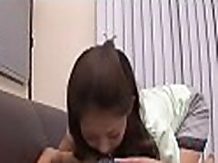 Voluptuous japanese in nylons toys her lewd beaver