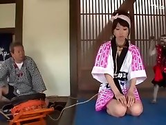Best Japanese girl Hitomi Kitagawa in Hottest tied gagged and hooded girls, sunny leone and denel weber JAV video