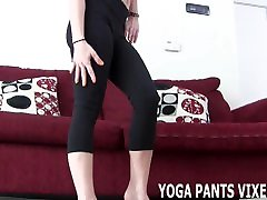 These yoga pants leave nothing to the imagination