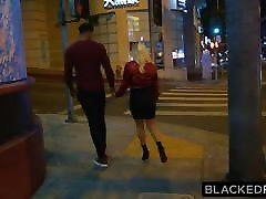 BLACKEDRAW Boyfriend with cuckold fantasy shares his blonde