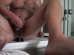 Dildo in shower